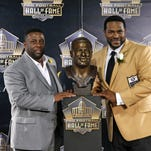 Jerome 'The Bus' Bettis enters Hall by way of Detroit