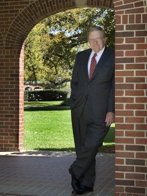 William Rieck is pictured in 2009, when he was named a UL Distinguished Professor. Rieck died Thursday at age 73.