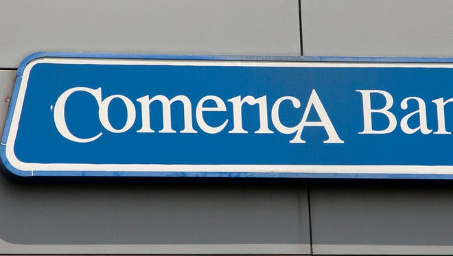 "Comerica Bank is the latest ""Landmark Partner"" for the new Detroit arena."