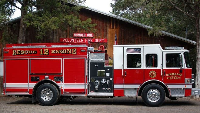 Number One Volunteer Fire Department recently purchased a new fire truck.