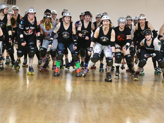 The Cincinnati Rollergirls team are celebrating their 10th year anniversary. The team is the first all-female, amateur, flat track derby team.