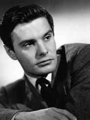 An undated file photo shows French actor Louis Jourdan