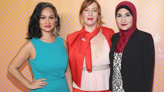 Carmen Perez, Bob Bland and Linda Sarsour were leaders of the Women's March on Washington.