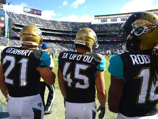 Jaguars Going With Running Back By Committee