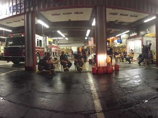 Richmond Fire Department on June 14, 2015.