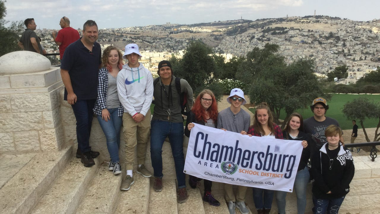 This semester, nine Chambersburg Career Magnet School students spent two weeks in Israel learning about the culture and touring the country.