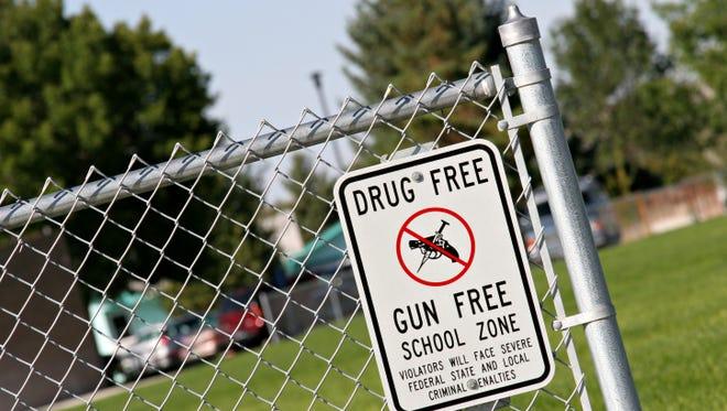 Drug and gun free school zone