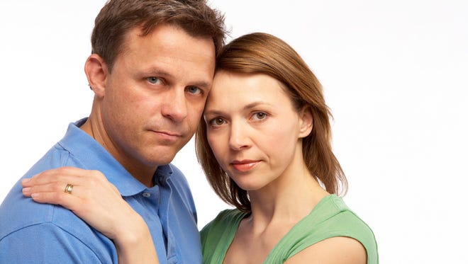 """A stock image found through Getty Images by searching """"heterosexual couple."""""""