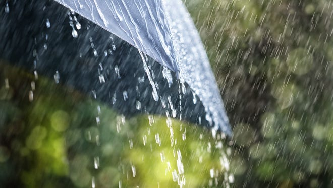 Wind and rain are expected Thursday afternoon, evening and overnight before clearing Friday. The National Weather Service has issued a Wind Advisory through 6 a.m. Friday for Montgomery County.