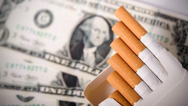 Smoking cost!