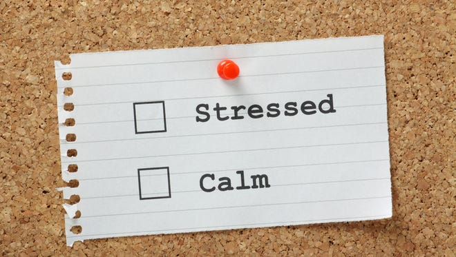 Take time to determine the stressors in your life and plan ways to cope with them.