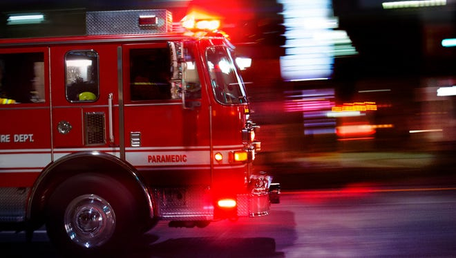A Saturday morning fire in Lansing Twp. has displaced 15 people.