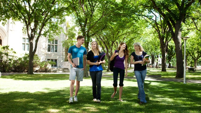 When visiting a college campus, have a focus and plan ahead.