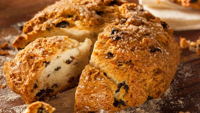 Traditional Irish Soda Bread for St. Patrick's Day