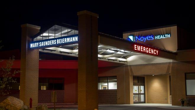 The Noyes Memorial Hospital in Dansville