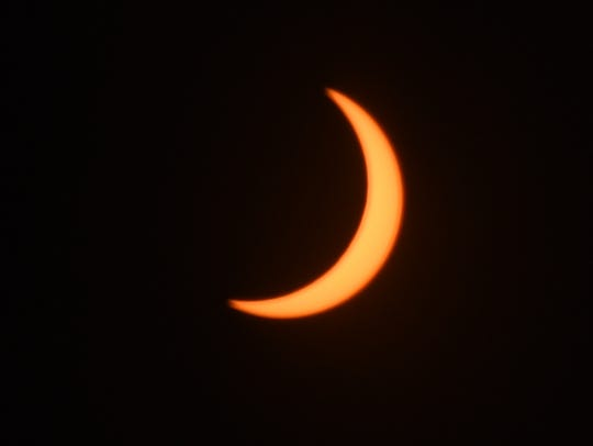 Solar Eclipse 2017 reaches totality at 10:20 a.m. Monday,