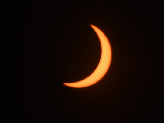 Solar Eclipse 2017 reaches totality at 10:20 a.m. Monday, Aug. 21, 2017 in Reno.