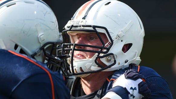 Auburn right guard Braden Smith has declined to speak