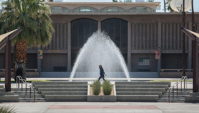 The Hilb Center at College of the Desert in Palm Desert on Thursday, July 7, 2016. This building originally housed the college's library.