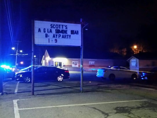 Clarksville Police officers responded to a shooting
