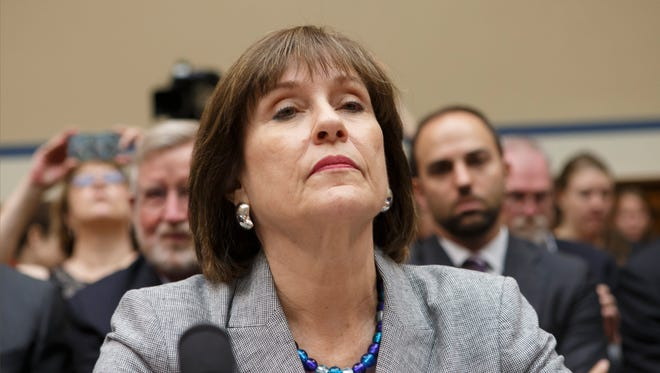IRS official Lois Lerner testifies on Capitol Hill on May 22, 2013.