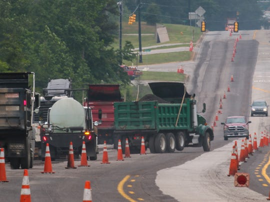 Upstate paving companies are planning to hire more
