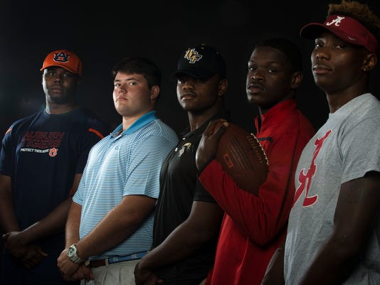 Division 1 Football Signees