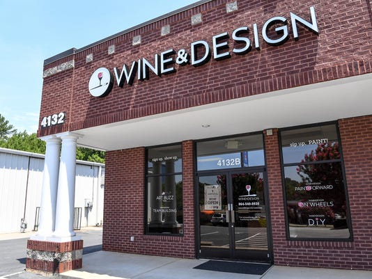 Wine and design 4232B Clemson Blvd