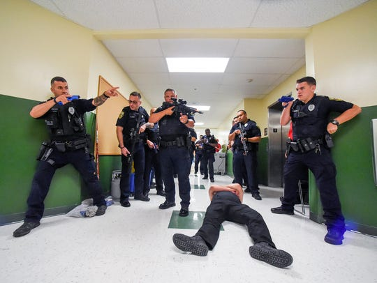 Port St. Lucie Police Officers and St. Lucie County