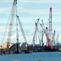 Pensacola Bay Bridge contractor to test use of rubble from old bridge in artificial reefs