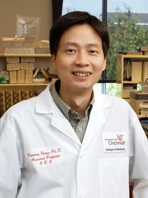 Dr. Xiaoting Zhang, Ph.D. and cancer researcher at University of Cincinnati.