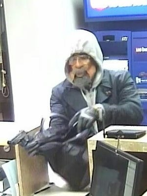 Metro Police say this suspect robbed a US Bank on Fesslers Lane Jan. 13, 2017.