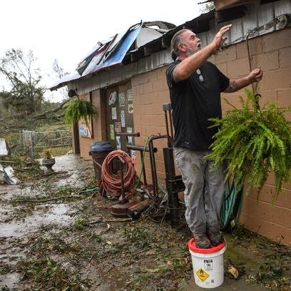 Six homes in Pickens County destroyed by Sunday's tornado