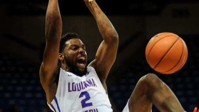 Louisiana Tech junior Erik McCree scored 23 points in the first half to lead the Bulldogs past Southern Miss in Saturday night's Conference USA opener at the Thomas Assembly Center.