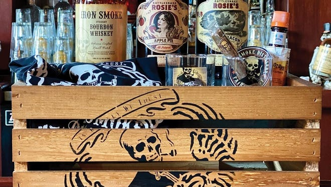 Iron Smoke Distillery in Fairport is selling eight versions of gift crates for Father's Day starting at $39.