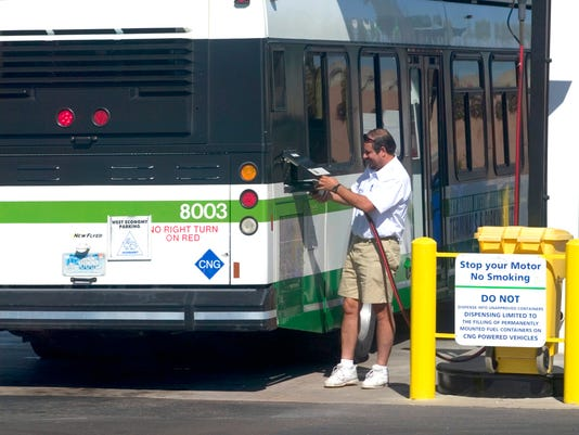 Natural gas vehicles worse for climate than diesel ones?