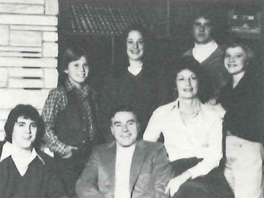 Dan and Mabel Coborn are shown with children Chris, Suzy, Tom, Shelly and Duke in a photo from the Sacred Heart Catholic Church parish directory, 1982.