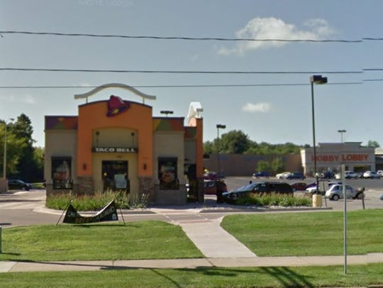 A Battle Creek Taco Bell location at 5560 Beckley Road,