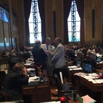 Bills held hostage in legislative chess game