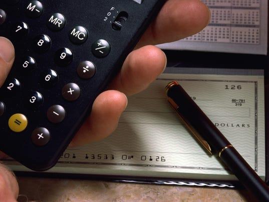 digital checkbook register