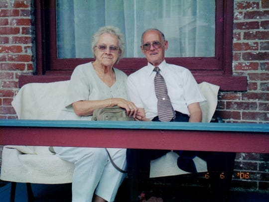 Donald and Catherine Major were married for 69 years.