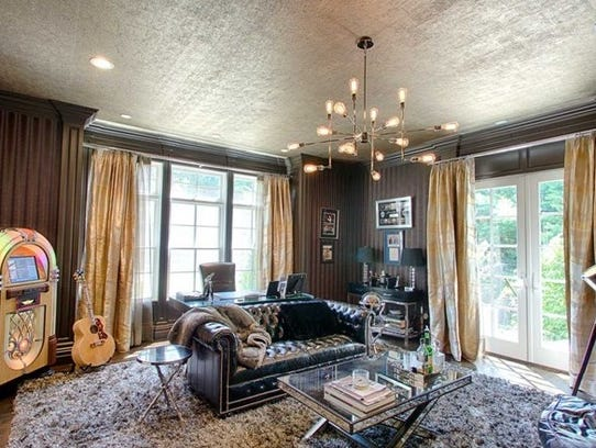 This custom home in Boonton Township built and formerly
