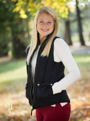Lauren Hodoval, the daughter of Mark and Elaine Godoval of Evansville, plans to study exercise science at the University of Evansville.