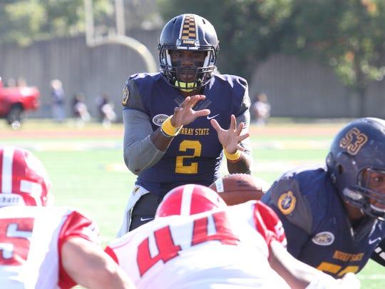Murray State quarterback KD Humphries led the NCAA