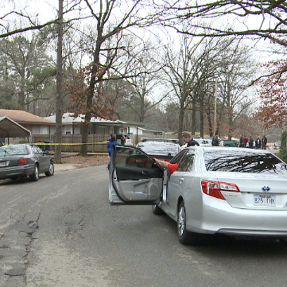 Police responded to the shooting on Wakefield Dr. in