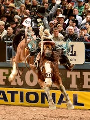 Milford's Ryder Wright will return to the Wrangler National Finals Rodeo after a spectacular debut a year ago that included five victories in 10 rounds of saddle bronc riding.