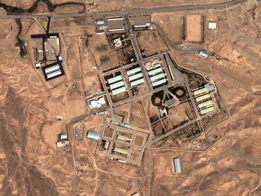FILES-IRAN-NUCLEAR-POLITICS-IAEA-PARCHIN
