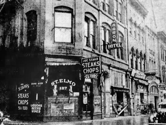 Opened in 1902, Downtown Indianapolis' famous St. Elmo