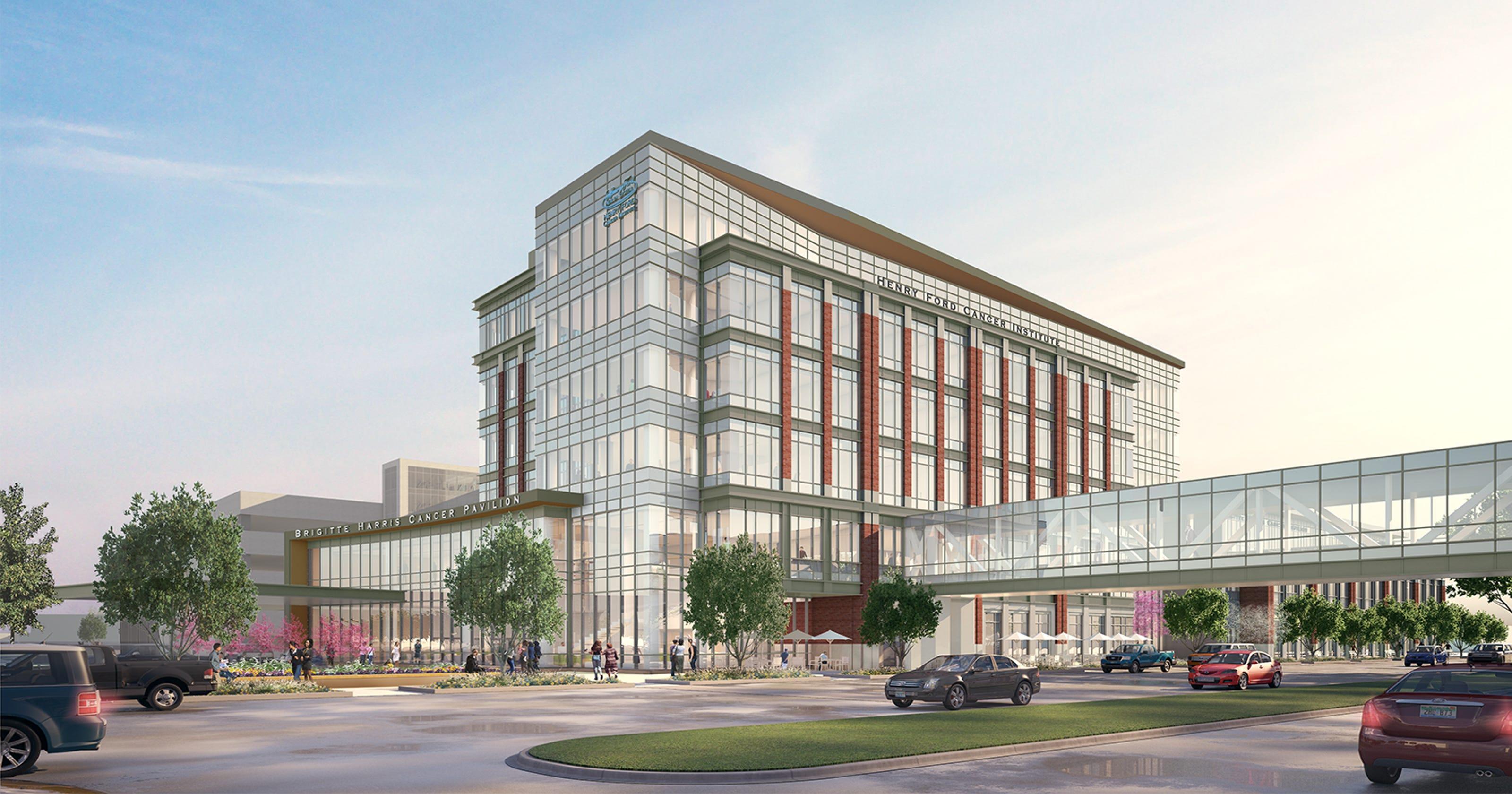 Henry Ford begins $155M cancer pavilion expansion