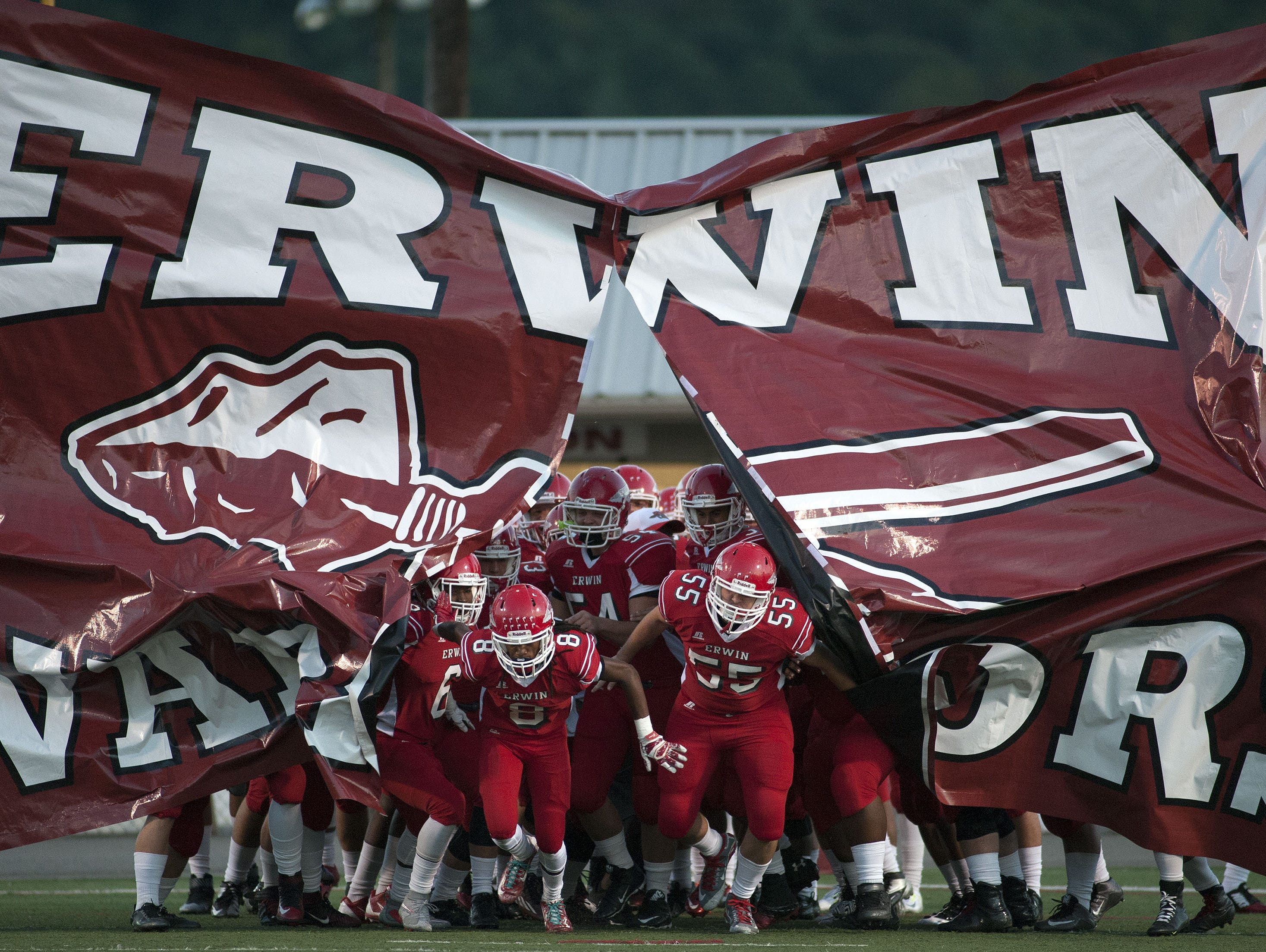 Erwin is home for Friday's Mountain Athletic Conference football opener against Reynolds.